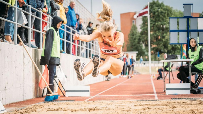 Kitija Paula Melnbārde Foto: Athletics.lv