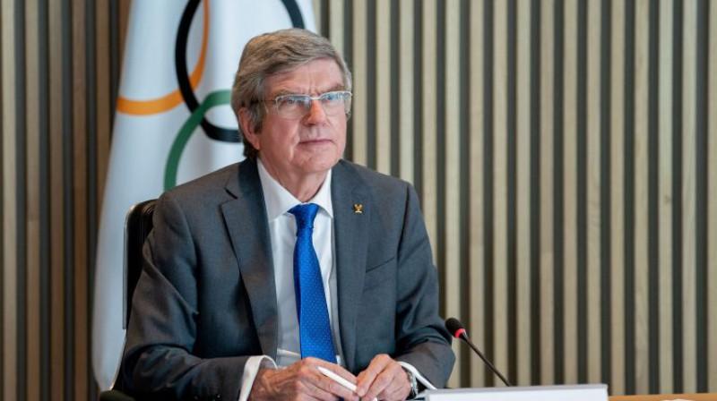 SOK prezidents Tomass Bahs. Foto: AFP/Scanpix
