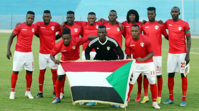 Sudānas izlases futbolisti. Foto: Sports Inc/PA Images/Scanpix
