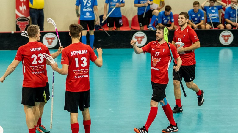 """""""FBK Valmiera"""" Foto: Floorball.lv"""