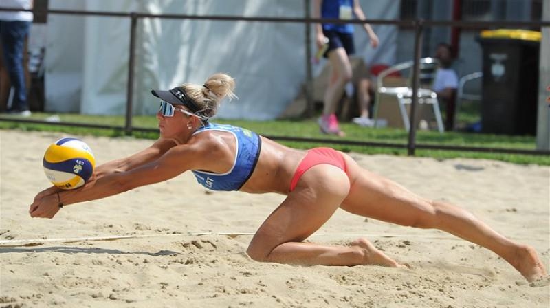 Krista Paegle. Foto: FIVB