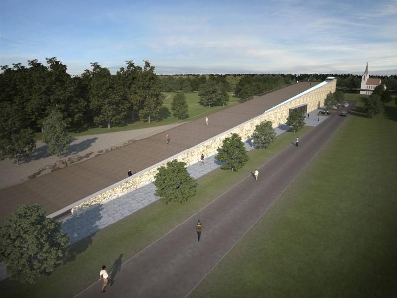 Vācijas latvietis Gaidis Graudiņš ziedo Likteņdārza sabiedriskajai ēkai  60 000 eiro
