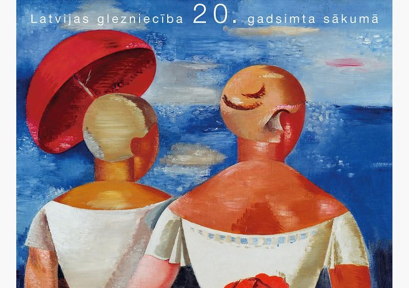 """Klajā nāk Daces Lambergas pētījuma """"Klasiskais modernisms. Latvijas glezniecība 20. gadsimta sākumā"""" atkārtots un papildināts izdevums"""