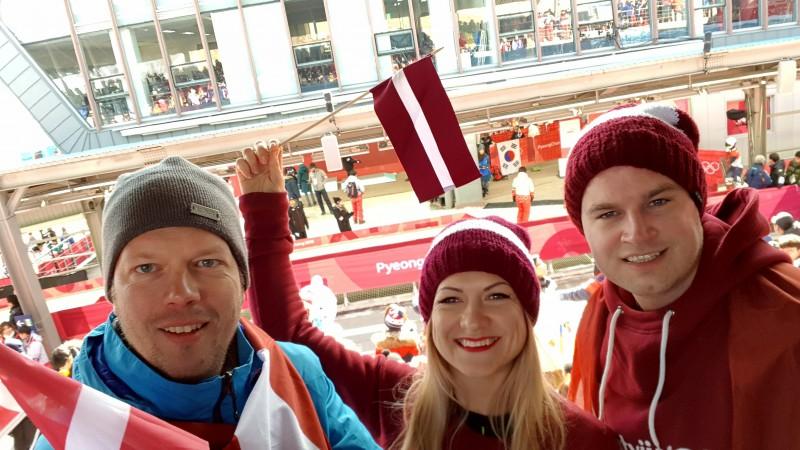 Līdzjutēja dienasgrāmata: Latvijas fani ir klāt!