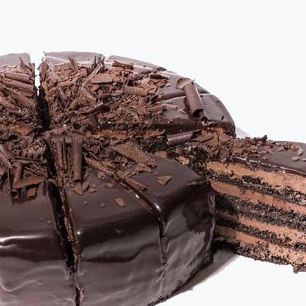 Amerikāņu šokolādes kūka