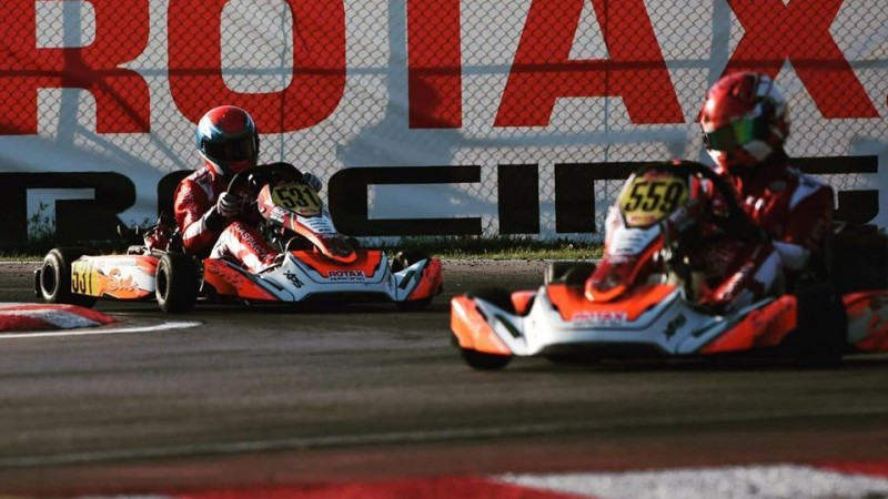 Atceltas ''Rotax Max Challenge Grand Finals'' kartinga sacīkstes