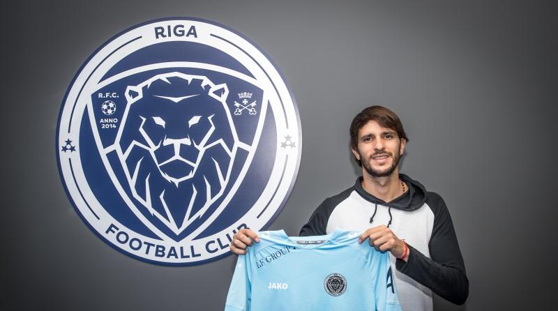 """Spēlējis kopā ar Pirlo, Lampardu un Vilju: """"Riga"""" jauns pastiprinājums"""