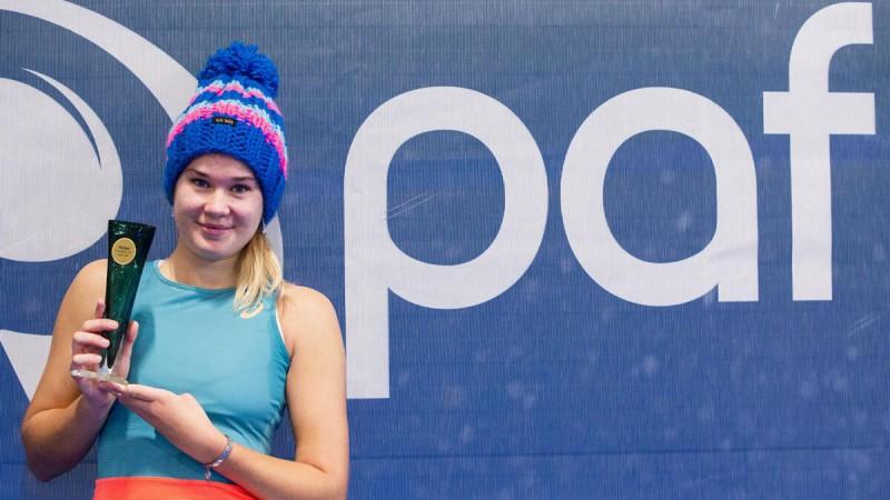 Šonedēļ uzvarot visos setos, Bartone Igaunijā izcīna pirmo ITF titulu