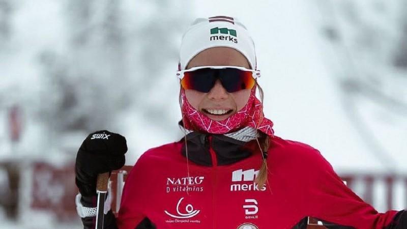 """Patrīcija Eiduka """"Tour de ski"""" sprintā klasikā izcīna 29.vietu, uzvaras Zviedrijai"""