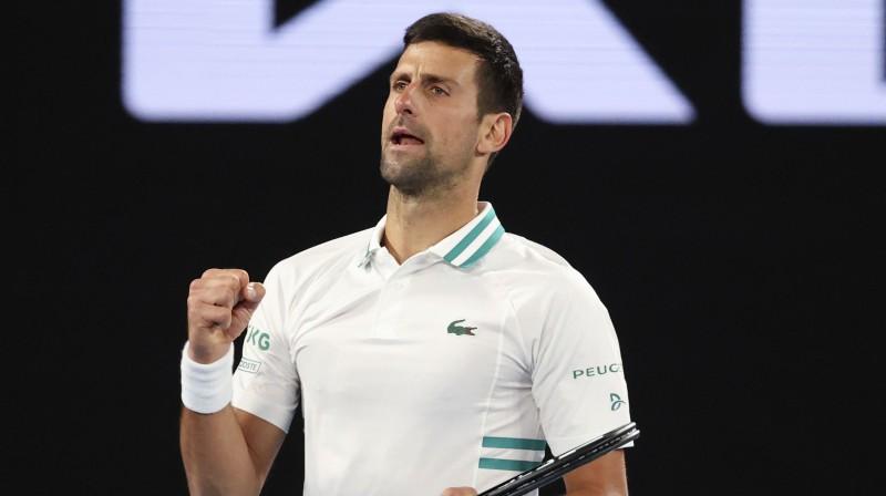 "Džokovičam 12 no 12 pret Raoniču un 300. ""Grand Slam"" uzvara"