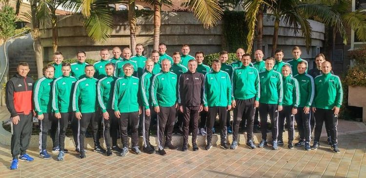 Latvijas vadošie tiesneši pirms sezonas aizvadījuši treniņnometni Turcijā