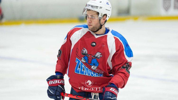 Pagājušās regulārās sezonas rezultatīvākais hokejists Tambijevs paliek ''Zemgale/LLU''