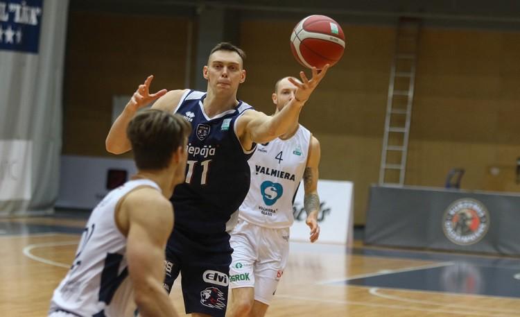 """LBL play-off sākas ar """"Liepājas"""" uzvaru pār """"Valmiera Glass/ViA"""""""