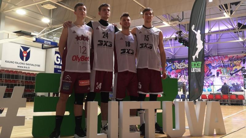 Lietuvas 3x3 čempionāta pirmajā posmā U23 izlase izcīna ceturto vietu