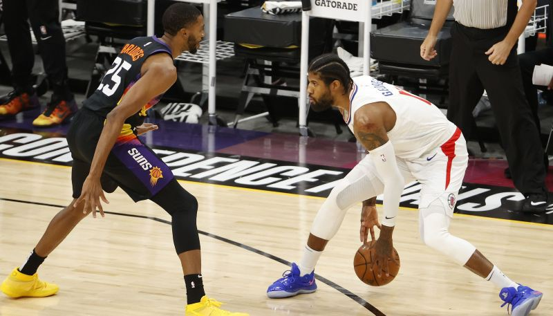 """""""Clippers"""" cerības ir dzīvas: Džordžs ar 41+13+6 nodrošina uzvaru piektajā spēlē"""