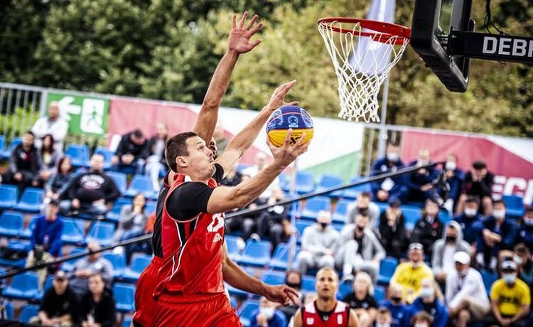 """Riga"" 3x3 basketbolisti Debrecenā sasniedz finālu"