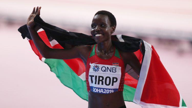 Kenijas skrējēja Tiropa mēnesi pēc pasaules rekorda labošanas atrasta mirusi